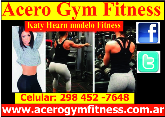 Katy Hearn modelo Fitness