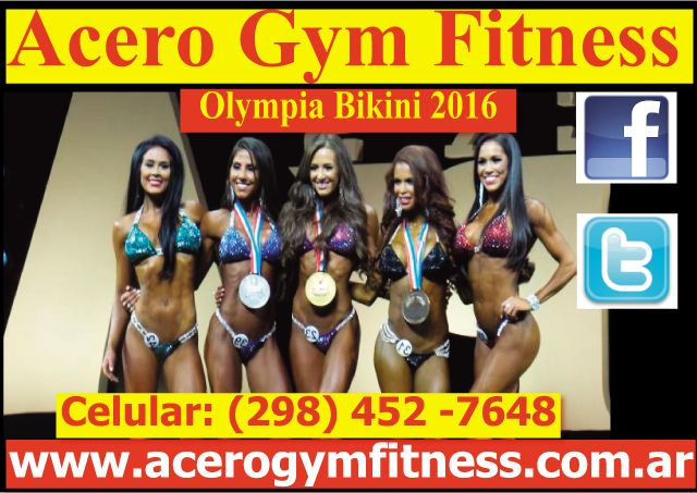 Olympia Bikini 2016 courtney king ganadora